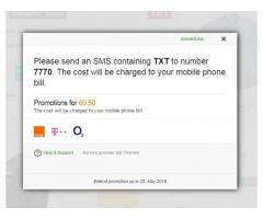 SMS Payments Plugin Demo - 3/4